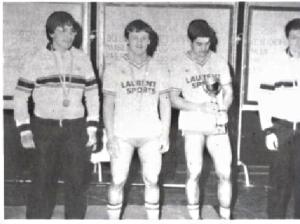 De gauche à droite : J. Philippe KWIECIEN, Richard FERNANDEZ, Philippe AUBOUY et Thierry REYNAUD