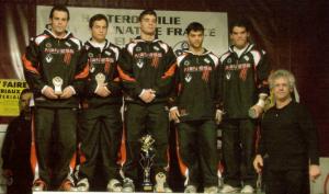 """Champion de France des Clubs 2007 """"BARDIS Team"""" avec Henri LAGARRIGUE"""