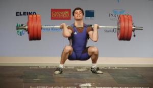 Jean Baptiste Bardis aux Jeux Olympiques de Pékin (2008) - 180kg à l'épaulé