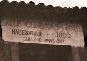 """La première """"vraie"""" salle d'entrainement du club rue Frégère"""