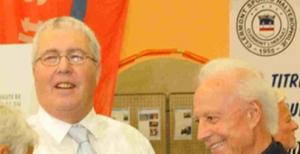 """Mr Bernard GARCIA en compagnie d'Yvan RANDON  à l'occasion du Tournoi International de France """"Denis RANDON"""""""