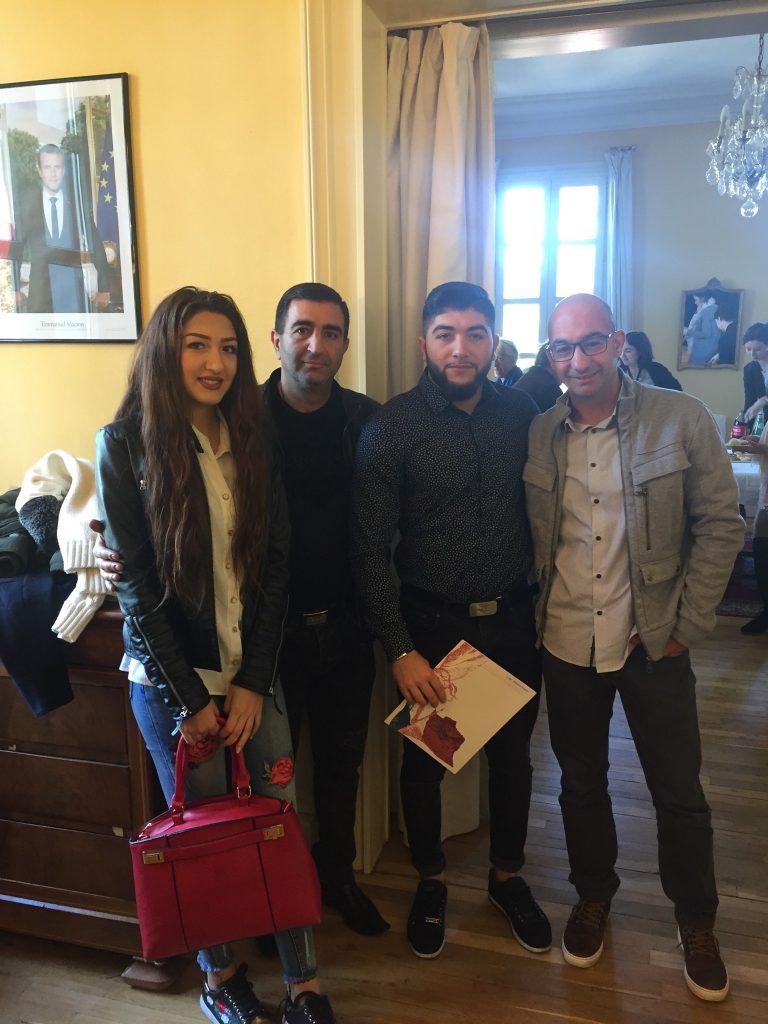 Norik GHAZARYAN reçu à la sous Préfecture