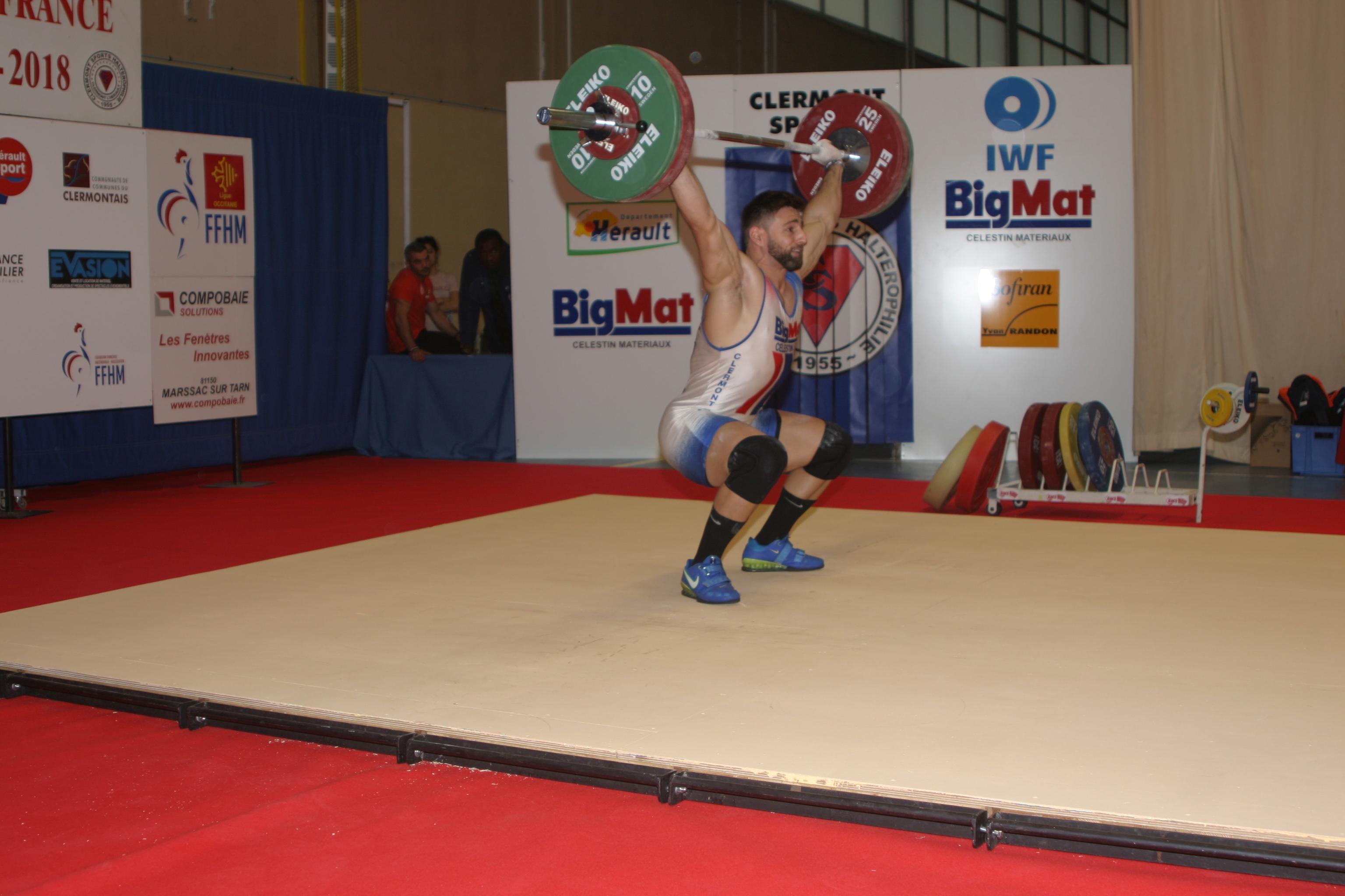 Clermont Sports Halterophilie