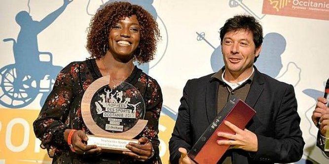 Gaëlle NAYO KETCHANKE honorée par la région OCCITANIE, Midi Libre et la Dépêche